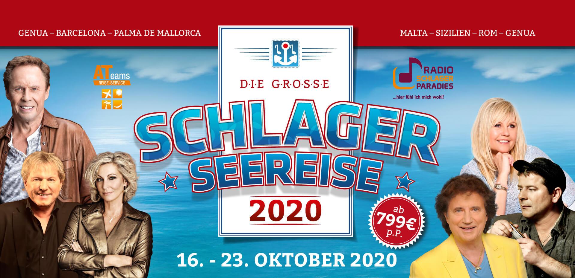 """Im Oktober 2020 erwartet Euch """"Das totale Schlager-Feeling"""""""